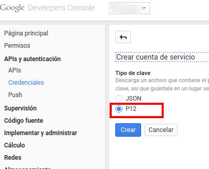 API Google Search Console