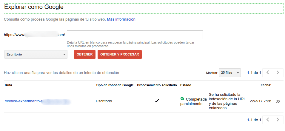 Intentando comprender Googlebot y los 301